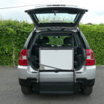 Mobility Nationwide | Used Wheelchair Accessible Vehicles | Kia Sportage ramp stowed