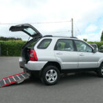 Mobility Nationwide | Used Wheelchair Accessible Vehicles | Kia Sportage side ramp view