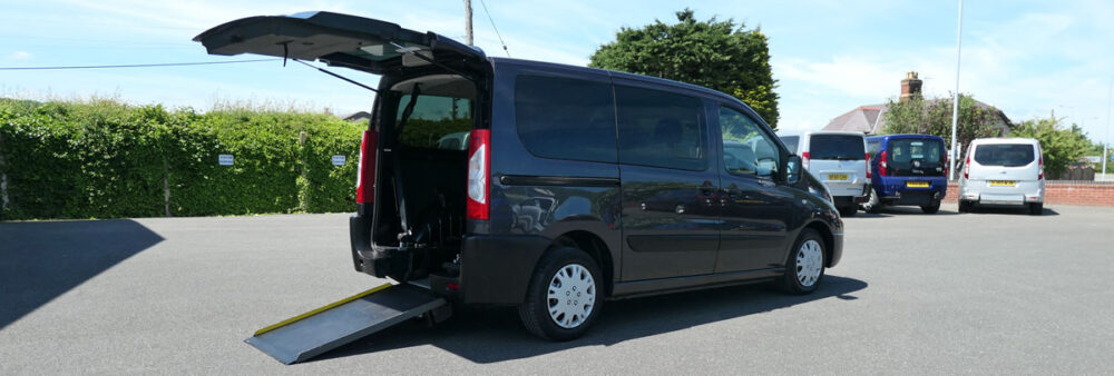 Mobility Nationwide | Used Wheelchair Accessible Vehicles | Peugeot Expert Vehicle To Take Wheelchair