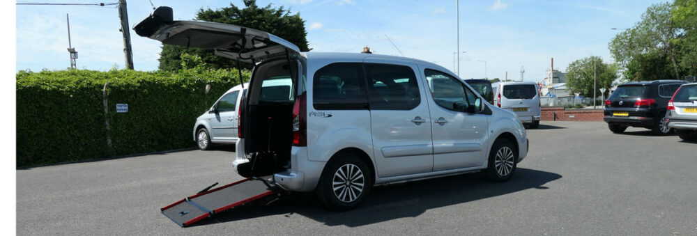 Mobility Nationwide   Used Wheelchair Accessible Vehicles   Peugeot Partner Car To Take Wheelchair