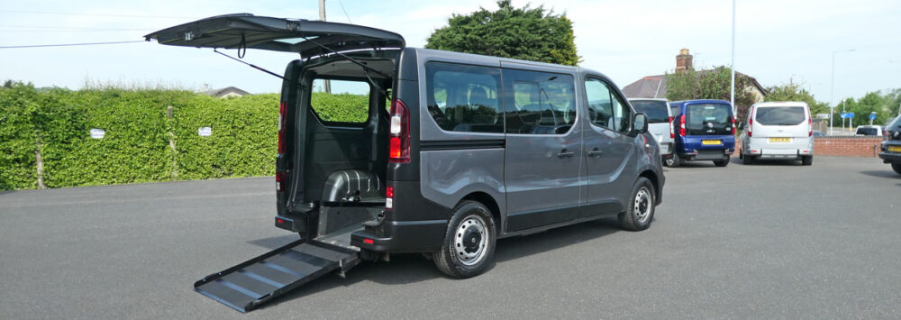 Mobility Nationwide   Used Wheelchair Accessible Vehicles   Vauxhall Vivaro Vehicle To Take Wheelchair