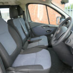 Mobility Nationwide   Used Wheelchair Accessible Vehicles   Vauxhall Vivaro front seats