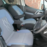 Mobility Nationwide   Used Wheelchair Accessible Vehicles   Peugeot Partner front seats