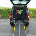 Mobility Nationwide | Used Wheelchair Accessible Vehicles | VW Caddy Life ramp to back