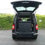 Mobility Nationwide | Used Wheelchair Accessible Vehicles | VW Caddy Life ramp stowed