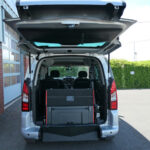 Mobility Nationwide   Used Wheelchair Accessible Vehicles   Peugeot Partner ramp upright