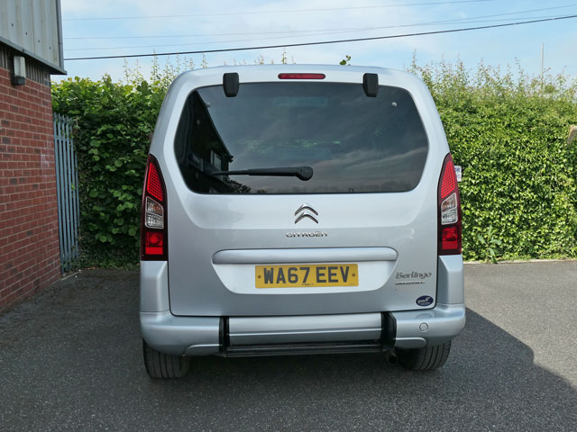 Mobility Nationwide   Used Wheelchair Accessible Vehicles   Citroen Berlingo rear