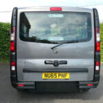 Mobility Nationwide   Used Wheelchair Accessible Vehicles   Vauxhall Vivaro rear