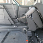 Mobility Nationwide   Used Wheelchair Accessible Vehicles   Peugeot Partner seat tilted