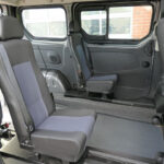 Mobility Nationwide   Used Wheelchair Accessible Vehicles   Vauxhall Vivaro rear seats