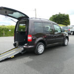 Mobility Nationwide | Used Wheelchair Accessible Vehicles | VW Caddy Life side view ramp