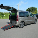 Mobility Nationwide   Used Wheelchair Accessible Vehicles   Peugeot Partner ramp side view