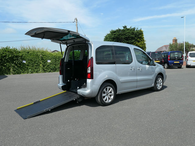Mobility Nationwide | Used Wheelchair Accessible Vehicles | Citroen Berlingo ramp side view