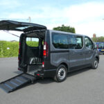Mobility Nationwide   Used Wheelchair Accessible Vehicles   Vauxhall Vivaro side view of ramp