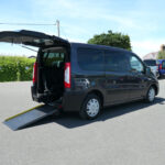 Mobility Nationwide | Used Wheelchair Accessible Vehicles | Peugeot Expert side view ramp