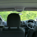 Mobility Nationwide   Used Wheelchair Accessible Vehicles   Vauxhall Vivaro view from wheelchair