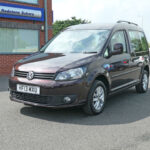Mobility Nationwide   Used Wheelchair Accessible Vehicles   VW Caddy Life front side angle