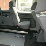 Mobility Nationwide   Used Wheelchair Accessible Vehicles   VW Caddy Life rear seat