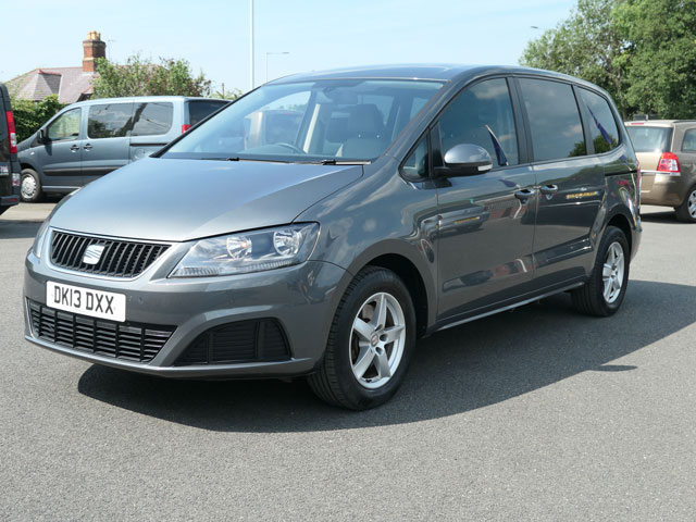 Mobility Nationwide   Used Wheelchair Accessible Vehicles   SEAT Alhambra front side
