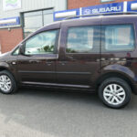 Mobility Nationwide   Used Wheelchair Accessible Vehicles   VW Caddy Life side