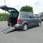 Mobility Nationwide   Used Wheelchair Accessible Vehicles   Alhambra SE Lux ramp side view