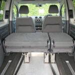 Mobility Nationwide | Used Wheelchair Accessible Vehicles | VW Caddy Maxi rear view of rear seats