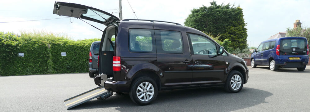Mobility Nationwide   Used Wheelchair Accessible Vehicles   VW Caddy Life