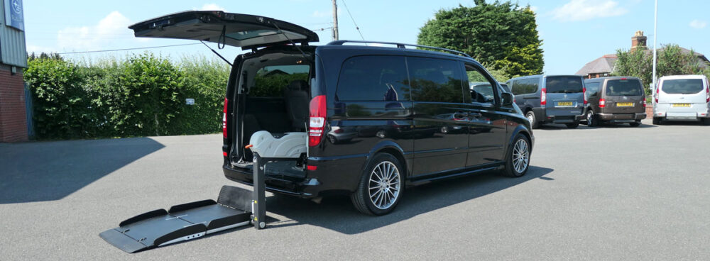 Mobility Nationwide | Used Wheelchair Accessible Vehicles | Mercedes Viano and lift