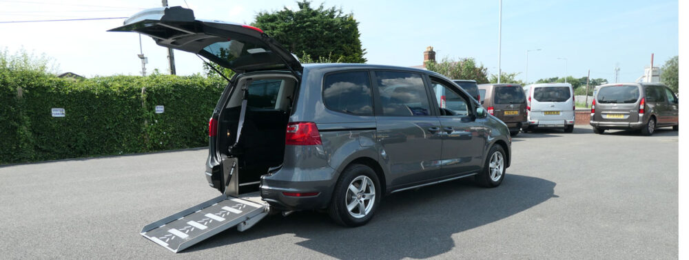 Mobility Nationwide | Used Wheelchair Accessible Vehicles | SEAT Car To Take Wheelchair