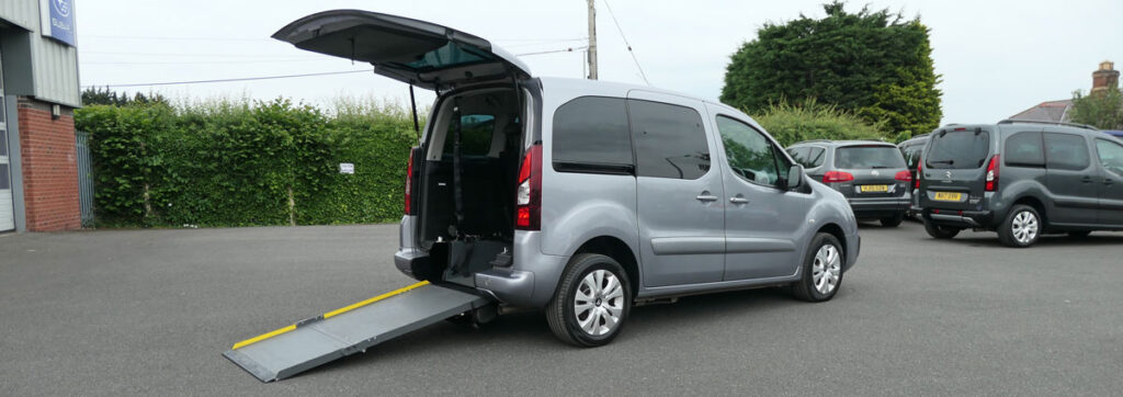 Mobility Nationwide | Used Wheelchair Accessible Vehicles | Citroen Berlingo ramp