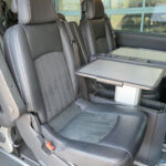 Mobility Nationwide | Used Wheelchair Accessible Vehicles | Mercedes Viano rear seats and table