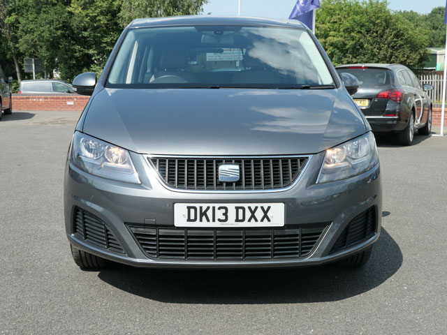 Mobility Nationwide | Used Wheelchair Accessible Vehicles | SEAT Alhambra front