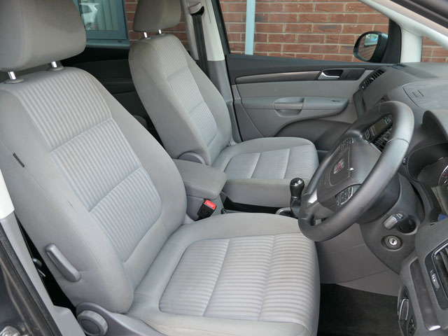 Mobility Nationwide | Used Wheelchair Accessible Vehicles | SEAT Alhambra front seats
