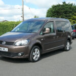 Mobility Nationwide | Used Wheelchair Accessible Vehicles | VW caddy Maxi front side