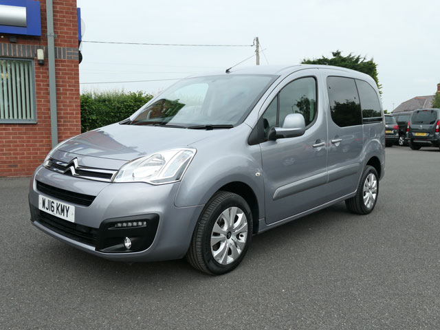 Mobility Nationwide   Used Wheelchair Accessible Vehicles   Citroen Berlingo front side