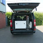 Mobility Nationwide | Used Wheelchair Accessible Vehicles | Mercedes Viano lift stowed