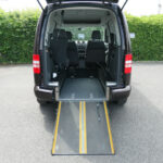 Mobility Nationwide   Used Wheelchair Accessible Vehicles   VW Caddy Life ramp to back
