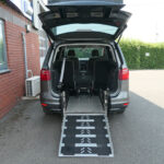 Mobility Nationwide | Used Wheelchair Accessible Vehicles | SEAT Alhambra ramp to back
