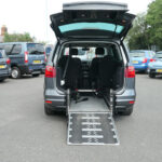 Mobility Nationwide   Used Wheelchair Accessible Vehicles   Alhambra SE Lux ramp to back