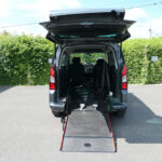 Mobility Nationwide | Used Wheelchair Accessible Vehicles | Peugeot Partner ramp to back