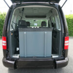 Mobility Nationwide   Used Wheelchair Accessible Vehicles   VW Caddy Life ramp stowed