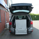 Mobility Nationwide | Used Wheelchair Accessible Vehicles | SEAT Alhambra ramp stowed