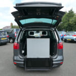 Mobility Nationwide   Used Wheelchair Accessible Vehicles   Alhambra SE Lux ramp stowed