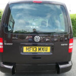 Mobility Nationwide   Used Wheelchair Accessible Vehicles   VW Caddy Life rear