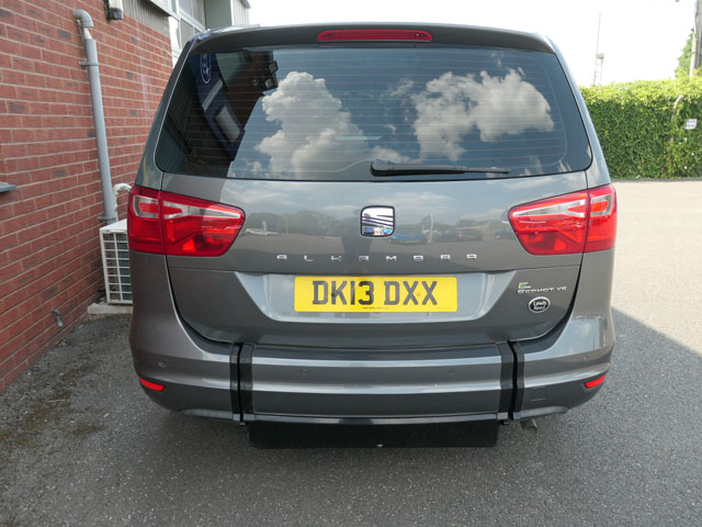 Mobility Nationwide | Used Wheelchair Accessible Vehicles | SEAT Alhambra Boot closed