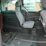 Mobility Nationwide   Used Wheelchair Accessible Vehicles   Partner rear seat