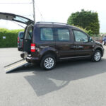 Mobility Nationwide   Used Wheelchair Accessible Vehicles   VW Caddy Life side view ramp