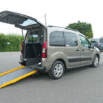 Mobility Nationwide | Used Wheelchair Accessible Vehicles | Citroen Berlingo side view ramp