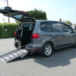 Mobility Nationwide | Used Wheelchair Accessible Vehicles | SEAT Alhambra ramp side view