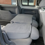 Mobility Nationwide | Used Wheelchair Accessible Vehicles | VW caddy Maxi seta folded